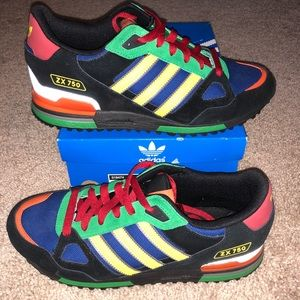 Men's Adidas ZX 750 Shoes Size 8.5 Brand New